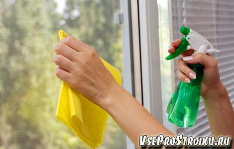 Чем лучше мыть пластиковые окна?