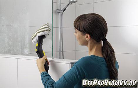 Каким средством мыть душевую кабину