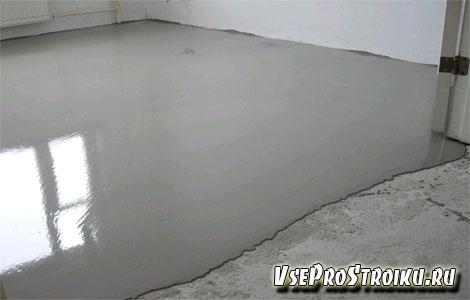 Как заливать наливной пол