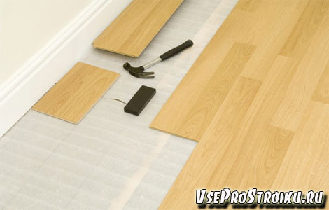 Как выбрать подложку под ламинат