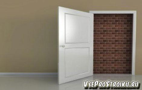Как заделать, заложить дверной проем