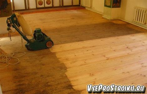 Ремонт старого деревянного пола
