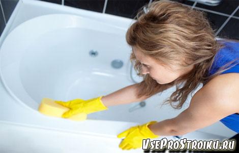 Чем можно мыть акриловую ванну