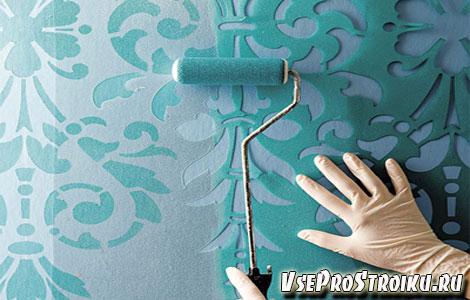 Роспись стен как подготовить стену