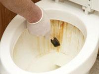 Как убрать жавчину с сантехники