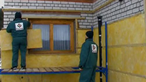 Соблюдение правил утепления стен