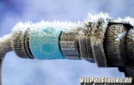 Как отогреть замерзший пластиковый водопровод