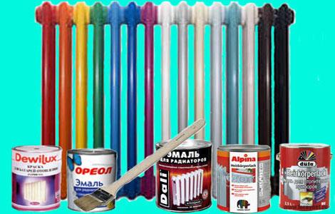 Краски для батарей