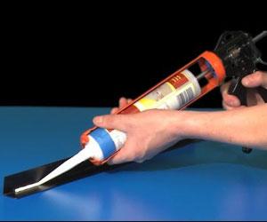 Как применять силикон в пистолете?