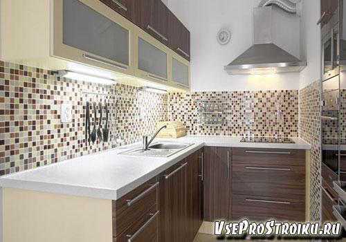 мозаика фартук для кухни фото
