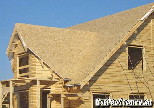Монтаж обшивки крыши OSB плитами