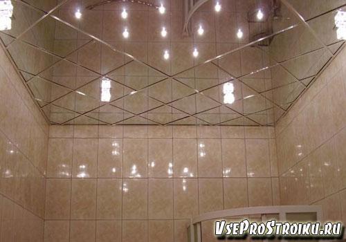 Как сделать натяжные потолки в ванной