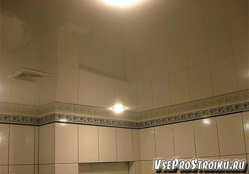 Зеркальные ПВХ в ванную