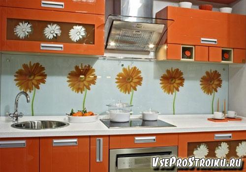 Какой сделать фартук на кухне?
