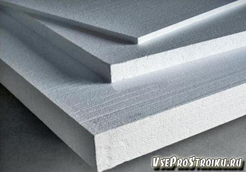 Теплоизоляционные свойства пенопласта