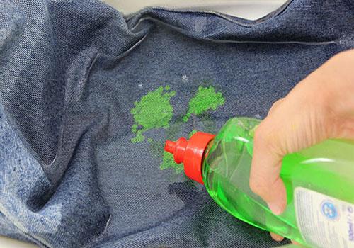 Оттираем масляную краску