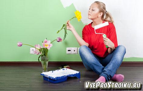 Как устранить запах краски