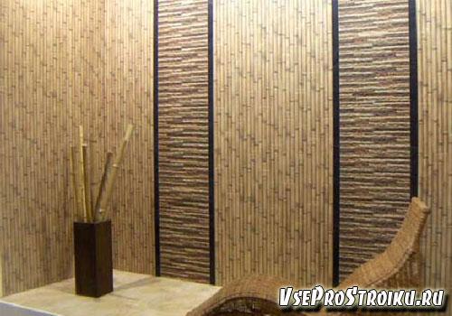 Уход за бамбуковыми обоями