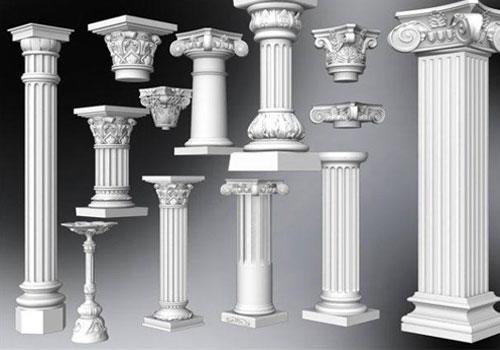 Из чего делают колонны