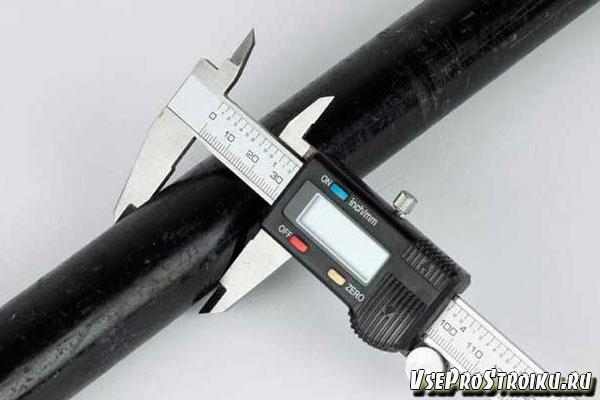 Штангенциркуль для измерения диаметра труб
