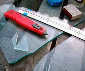 Обработка стекла перед резкой