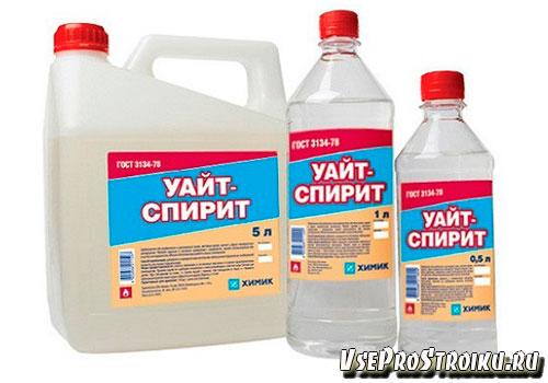 Как можно развести краску с помощью Уайт-спирит
