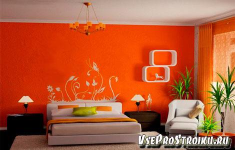 Лучшие цвета стен для спальни