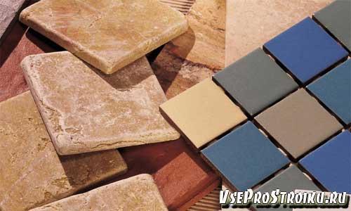 Основные размеры керамической плитки