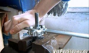 Как нарезать резьбу метчиком и плашкой