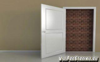 Как заделать дверной проем