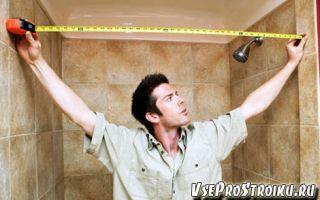 Как рассчитать плитку в ванную