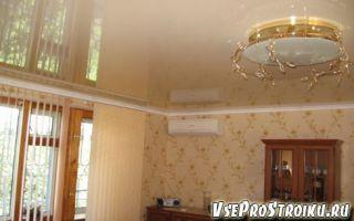 Что сначала натяжной потолок или обои
