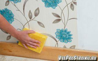 Как убрать пузыри на обоях после высыхания