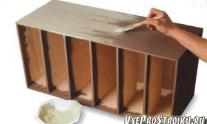 Как покрасить мебель своими руками