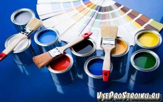Расход масляной краски на 1м2