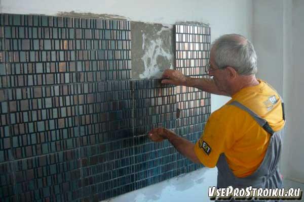 Ремонт стен на кухни
