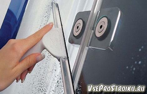 Чем лучше мыть душевую кабину