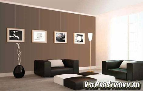 Как повесить картину не сверля стену