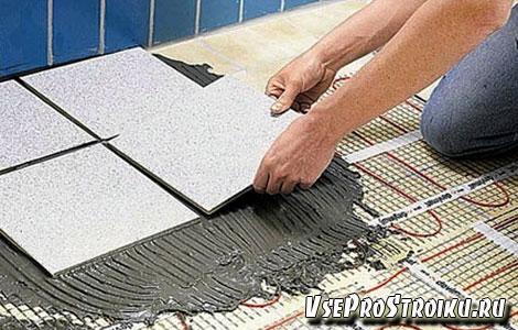 Как правильно положить плитку на пол в туалете