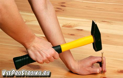 Как избавиться от скрипа деревянного пола