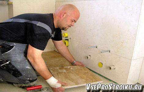 Как плитку выбрать для ванной комнаты