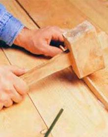Как убрать от щели деревянными рейками