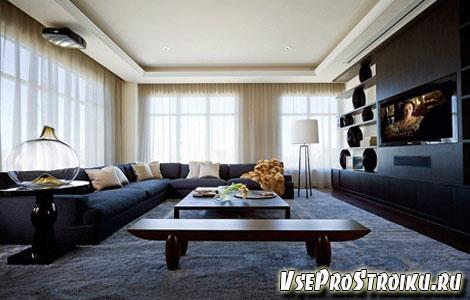 Расстановка мебели в зале
