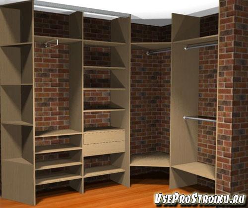 Что нужно учесть в гардеробной комнате