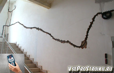 Как обнаружить проводку в стене