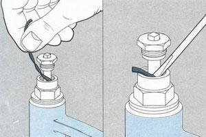 Износ сальника в смесителе
