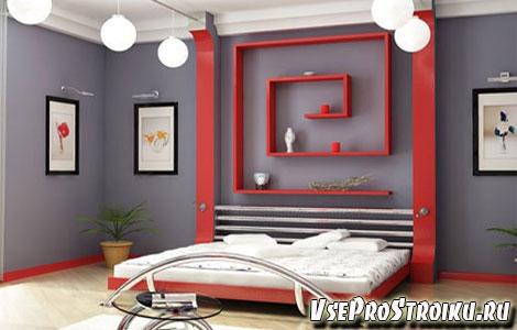 Настенные картины в спальне