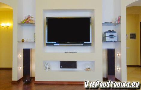 Куда поместить телевизор
