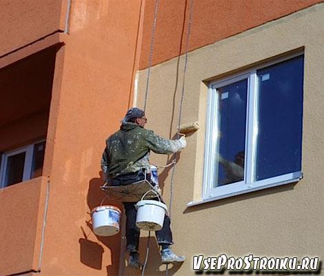 Подбор фасадной краски