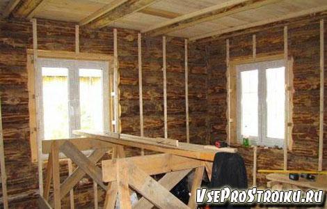 Cтены в деревянном доме